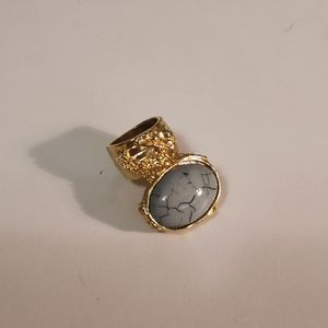 YSL Arty Tourquoise Ring